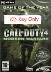 Call Of Duty 4 CD Key