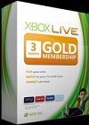 Xbox Live 3 Month Gold Subscription Card CD Key
