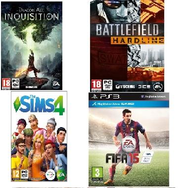 AKCIJA Electronic Arts naslova (01.06. - 14.06.)