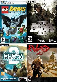 {Download} Arma II + LEGO Batman + Ghost recon II...PONUDA Dana